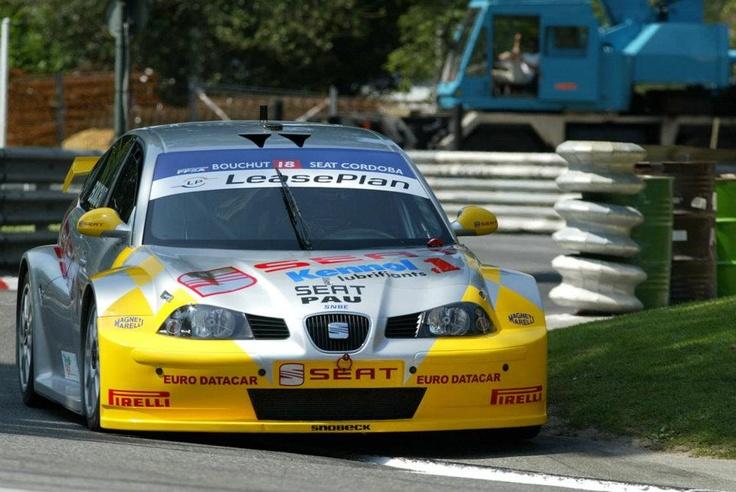 Christophe Bouchut. SEAT Córdoba Silhouette. France Supertouring Championship 2003