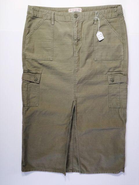 Levi Strauss Signature Misses Size 16 Taupe Long Maxi Skirt (J12) | eBay