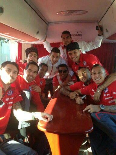 En camino a Brasil!!!!!