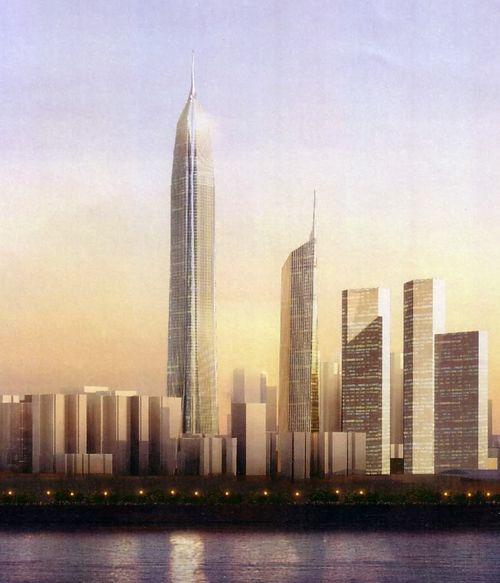 Pingan International Finance Center Shenzhen, China.