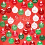Poster jeu : on fait quoi à Noël ?