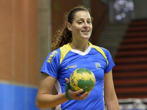 Eduarda Idalina Amorim, brazilian handball player.