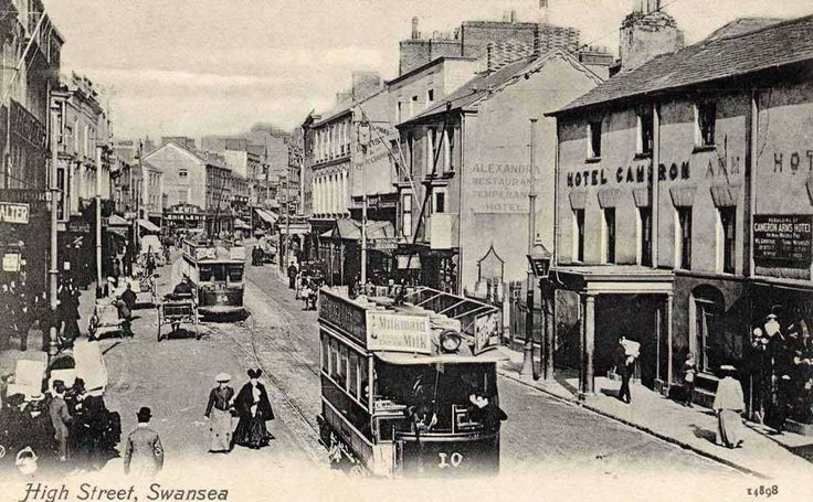 Swansea High Street 1908