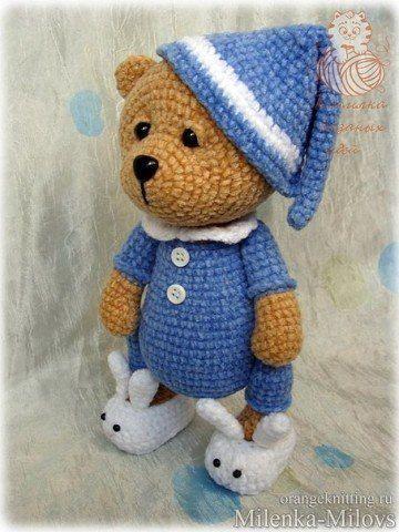 Amigurumi Bear Maya : 17 beste afbeeldingen over beren knuffels gehaakt op ...