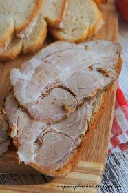 moje pasje: Karczek pieczony w musztardzie francuskiej na kanapki