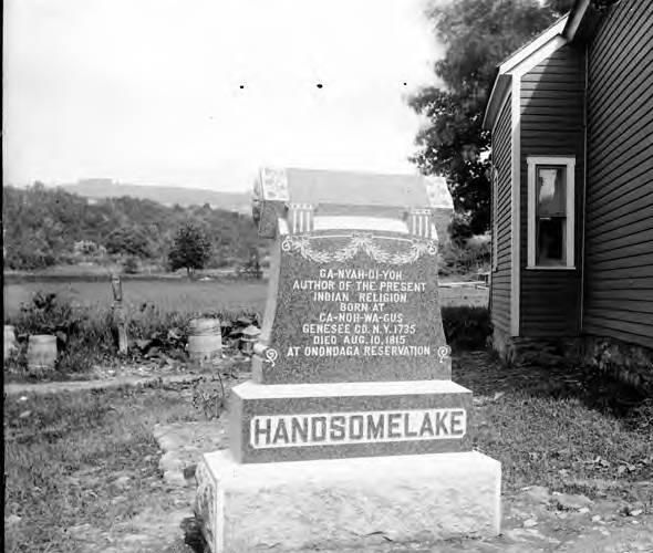 how america was discovered handsome lake Handsome lake handsome lake, the seneca prophet on the borders of onondaga he discovered that he had lost a favorite knife and went back to find it.