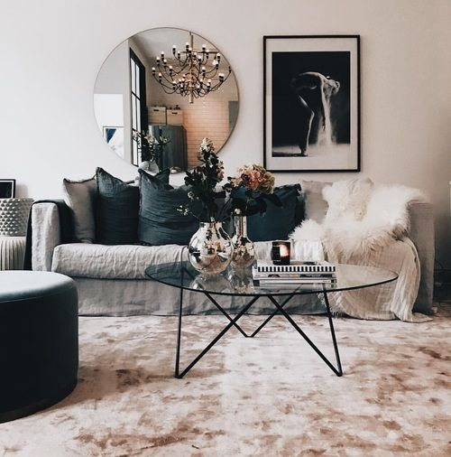 les 25 meilleures id es de la cat gorie miroir salon sur pinterest miroir pour entr e. Black Bedroom Furniture Sets. Home Design Ideas