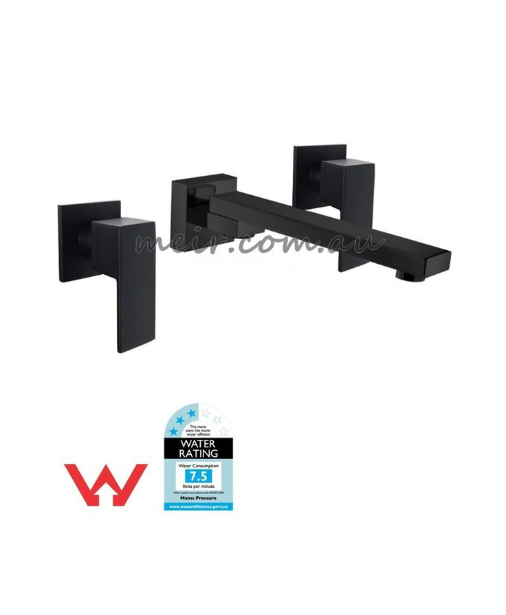 Meir Wall spout and tap set $389 182mm from wall