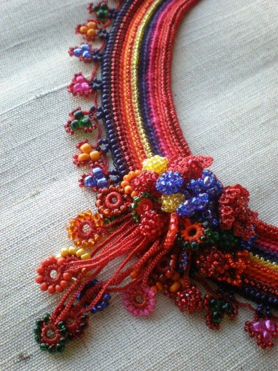 RESERVED Lycoris Sanguinea .... Beaded by irregularexpressions