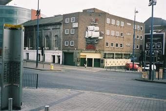 The now closed Royal George