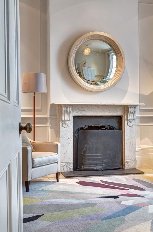Oltre 25 fantastiche idee su camino specchio su pinterest - Piastrelle per camino ...