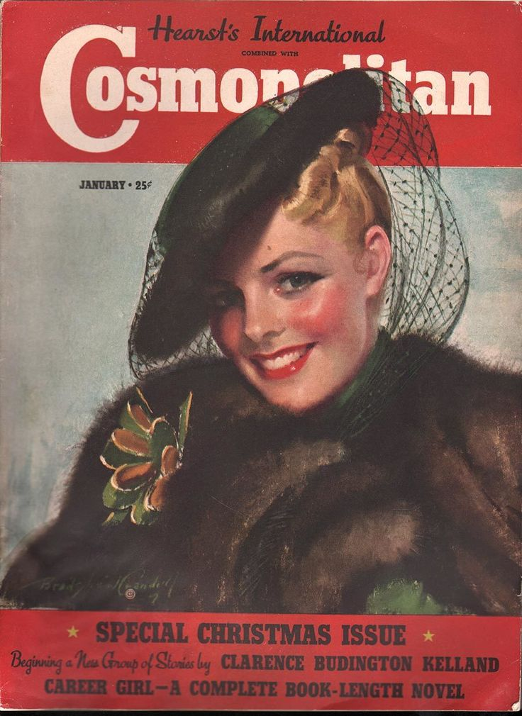 Cosmopolitan January 1939 - Ephemera Forever