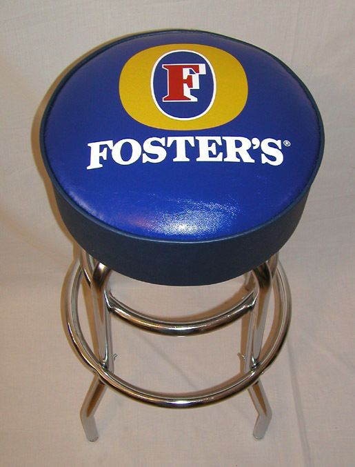 Fosters Lager Foster's Beer Bar Stool Stools New