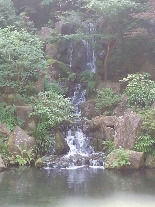 Japanese Gardens in Portland OR - super tranquil place