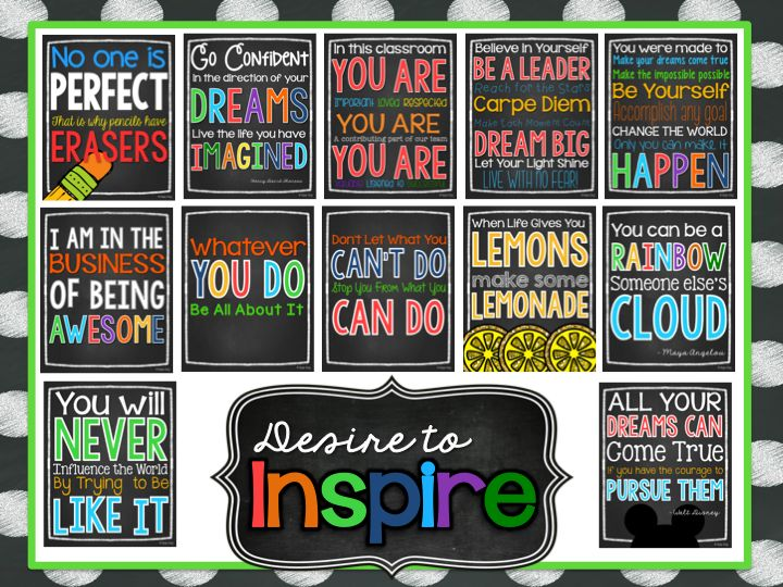 NEW!!! Classroom Rules & Quotes!