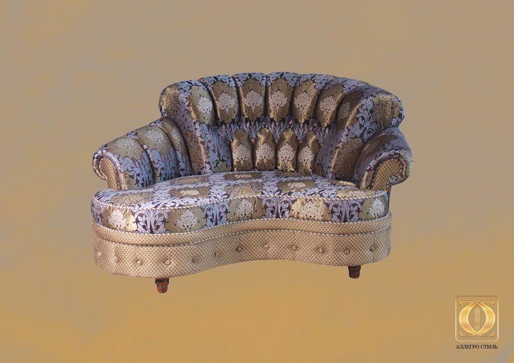 Коллекция итальянской мебели Палаццо от Аллегро-Стиль: оттоманка Инфанта