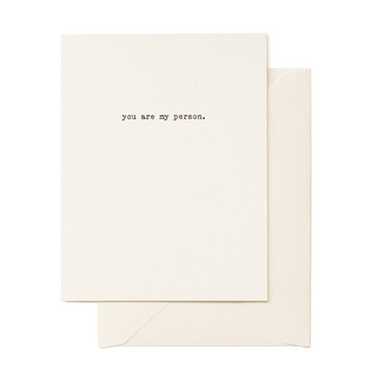 Nest Interiør | You Are My Person
