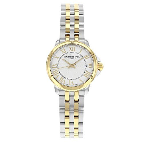 Women's Certified Pre-Owned Watches - Raymond Weil Tango 5391STP00308 Twotone Stainless Steel Quartz Ladies Watch Certified Preowned -- Continue to the product at the image link.