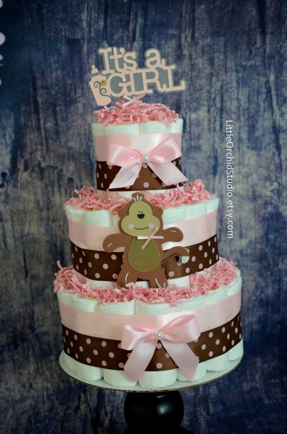 Safari Jungle theme Baby Shower/ Monkey baby di LittleOrchidStudio