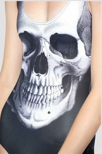 Find More One Pieces Information about High Quality Women Sexy One Piece Printed Black Skulls Swimsuit Girls Kawaii Monokini Swimwear Cheap Bodysuits,High Quality bodysuit blouse,China swimwear purple Suppliers, Cheap bodysuits dance from Cheap Designer Socks on Aliexpress.com