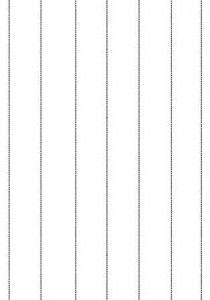 image découpage maternelle petite section lignes verticales