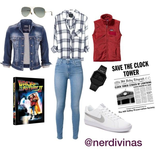 Marty McFly female version.