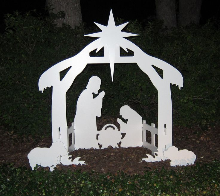 Amazon.com : Teak Isle Christmas Outdoor Nativity Set, Yard Nativity Scene : Patio, Lawn & Garden