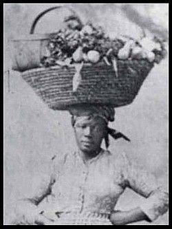 A Gullah woman.