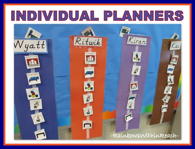 Individual Visual Planners for Children with Special Needs