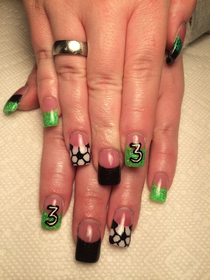 Soccer nails