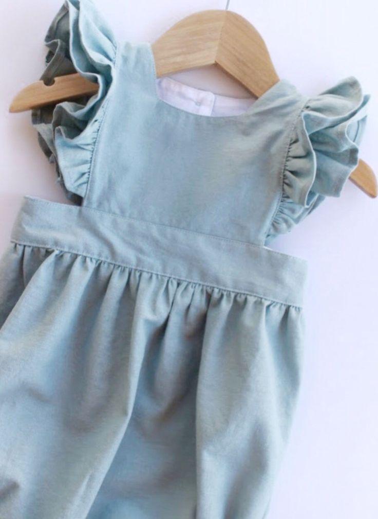 Handmade Linen   Cotton Bubble Baby Romper  01eedde437
