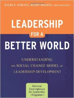 Leadership for a Better World [electronic resource] : Understanding the Social Change Model of Leadership Development    Komives, Susan R.   Universities and colleges--Administration. College administrators--Professional relationships. Educational leadership. Social change.   LB2341 .K66 2012EB EBSCO