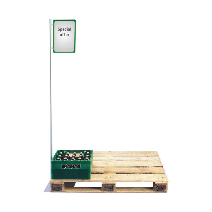 """Σταντ Τιμών για Παλέτες """"UP""""  Υλικό: μέταλλο Επιφάνεια: ηλεκτροστατικά βαμμένη Xρώμα: ασημί όμοιο με το RAL 9006 Μήκος πόλου: 1.700 χιλ. Διάμετρος σωλήνα: 22 χιλ. Πλάτος βάσης: 250 χιλ. Βάθος βάσης: 300 χιλ.  www.vkf-renzel.gr (Κωδικός 57.0095.1)  #advertising #prices #pricing #exhibition #selling #pos #stant #information #pos #προβολή #διαφήμιση #photooftheday #advertisement #greece #happy #beautiful #TagsForLikes #great #amazing #viral #nice #followme #vkfrenzel"""