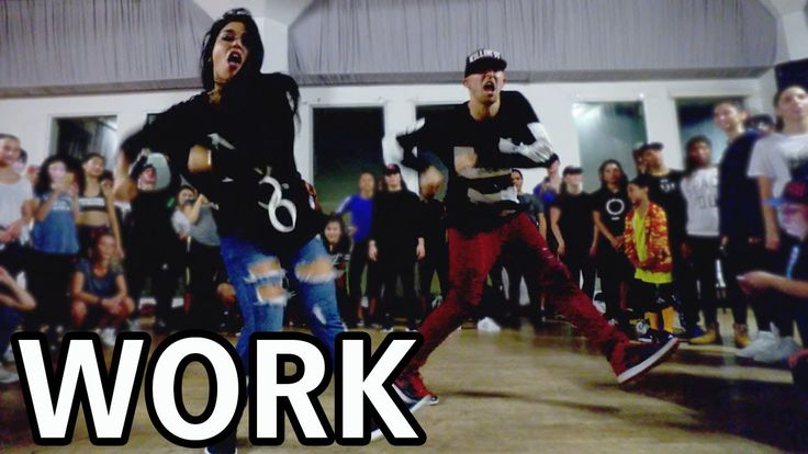 WORK - Rihanna Dance Video | @MattSteffanina Choreography ft Fik-Shun. It's the same choreography that each group does but is performed so differently by each person!