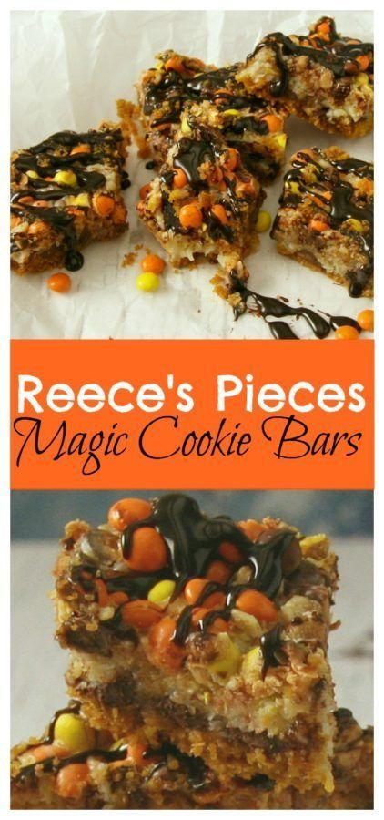 Reece's Pieces Magic Cookie Bars are the perfect treat for sharing. Make this cookie bar recipe for a sweet treat today.r-recipe