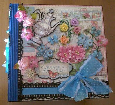 hobby e passioni racchiusi nel mio cassetto: Botanical Tea Album - Graphic 45