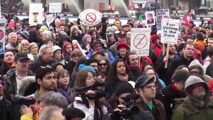Stop Bill C-51: Toronto Rally – March 14, 2015