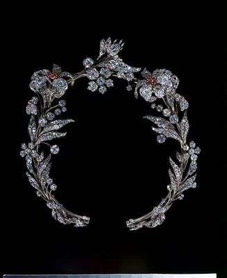 Ruby and Diamond Tiara  1835  Western Europe  The Victoria & Albert Museum