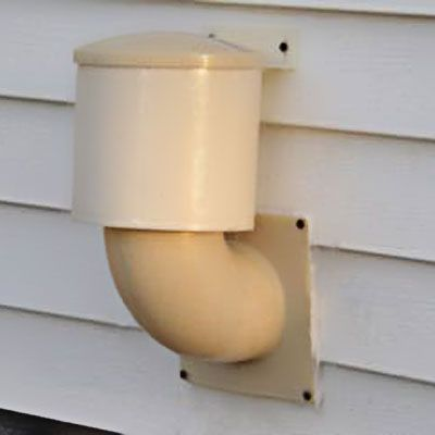 dryer exhaust vent cap*Exterior vents, for a clothes dryer,allow heated air to seep out of your house, while letting cold outside air in.   Swap your dryer's louvered or metal flapper-style vent for a Dryer Vent Seal (About $20; Battic Door), which consists of an elbow pipe topped with a plastic cap and shuttle. When the dryer is in use, the floating shuttle beneath the hood rises to let warm air, lint & moisture escape. When not in use, the shuttle drops down to seal the hole and prevent…