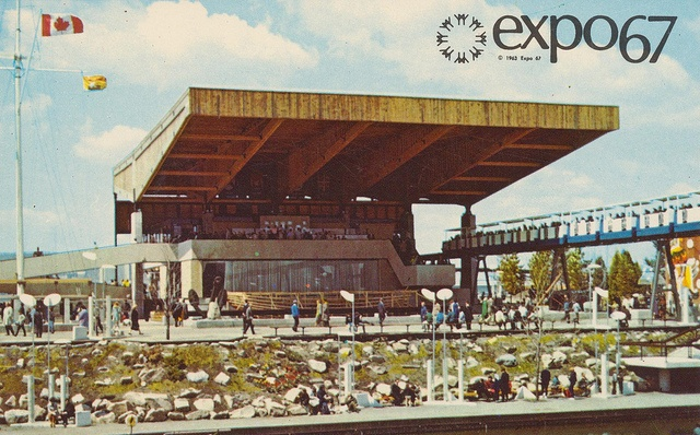 The Atlantic Provinces Pavilion at Expo '67 - Montreal, Quebec