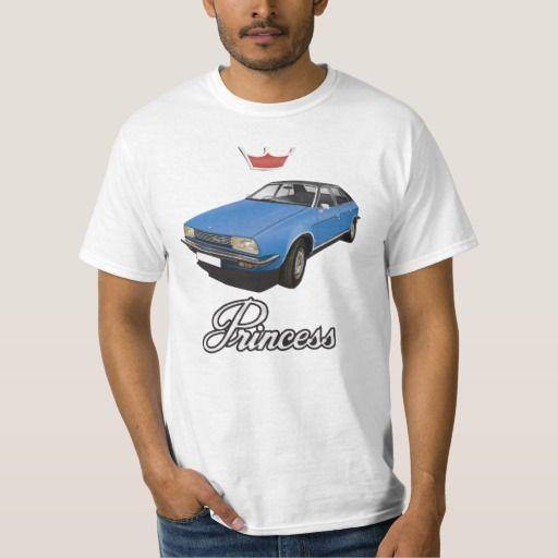 Austin Princess, Customizable (3x img) blue  ##austin #morris #princess #leyland #automobile #classic #tshirt #70s #blue