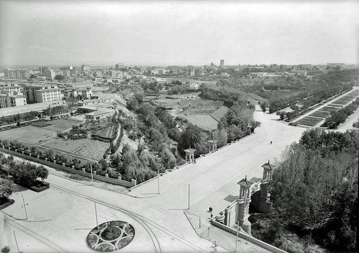 Parque Primo de Rivera años 50 - Gran Archivo Zaragoza Antigua