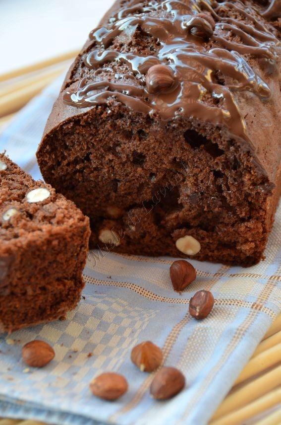 Plumcake+alle+nocciole,+ricetta+dolce
