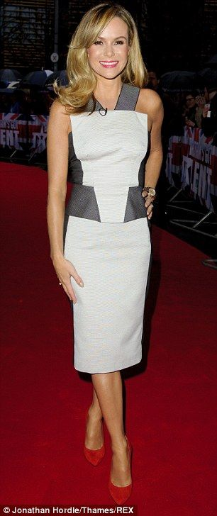 Amanda Holden ensured they got things off to a stylish start as they arrived at Belfast's Waterfront A...