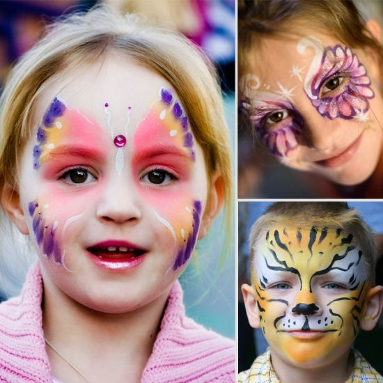 Tips and Tricks For Halloween Face Painting Success - Useful how-tos and suggested materials-to-use for toddlers to older kids. The ideas are useful not only for Halloween but for other events as well.