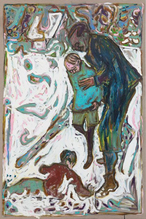 Billy Childish: Carwitz im Winter III, 2010