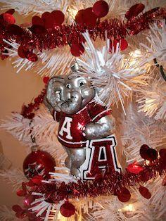 13 best Christmas Tree images on Pinterest | Alabama crimson tide ...