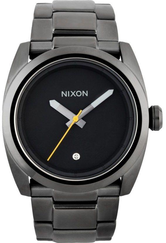 Nixon Gunmetal Kingpin Watch