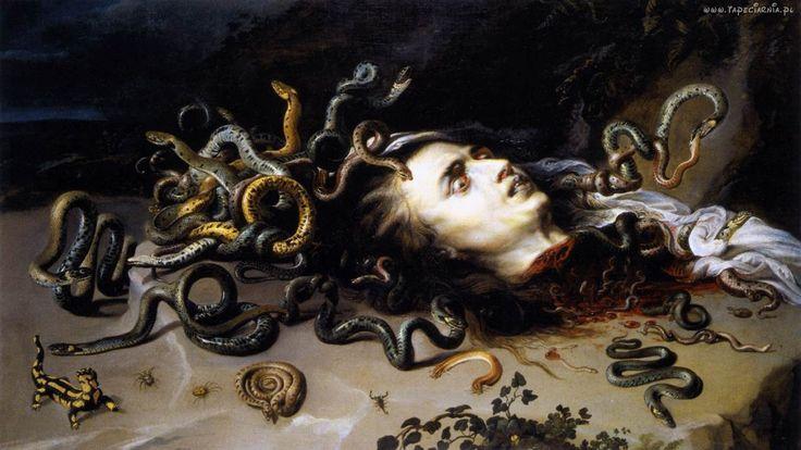 Medusa Leonardo Da Vinci Painting | el mito de medusa y perseo pintura medusa del pintor barroco rubens ...