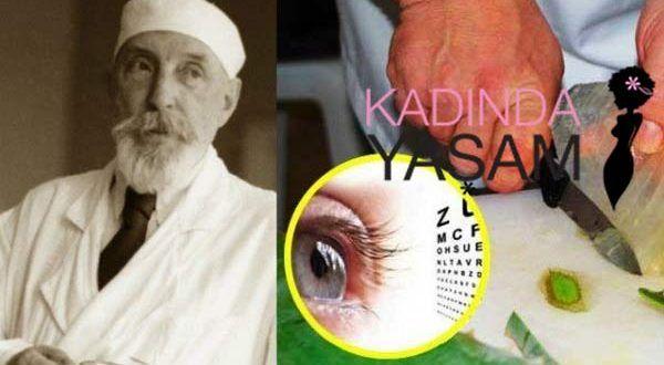 90 yaşındaki doktordan gözleri iyileştiren kür - Kadında Yaşam